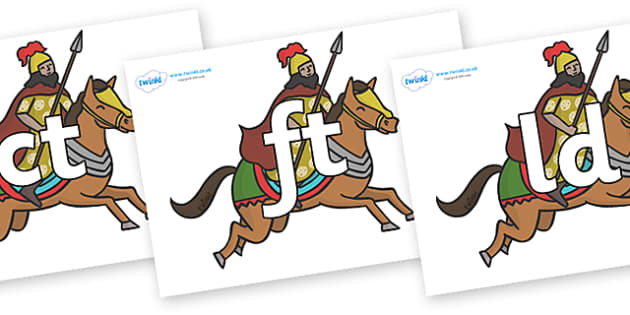Final Letter Blends on Egyptian Warriors - Final Letters, final letter, letter blend, letter blends, consonant, consonants, digraph, trigraph, literacy, alphabet, letters, foundation stage literacy