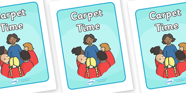 Carpet Time Display Poster - Carpet time, SEN, behaviour management, PSHE, SEAL, carpet time, circle, display banner, display, good sitting