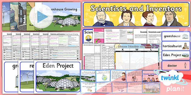 PlanIt - Science Year 2 - Scientists and Inventors Unit Pack - planit, science, year 2, scientists and inventors, unit pack