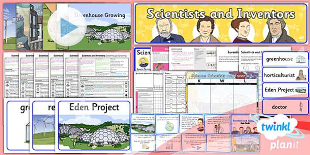 Y2 Scientists and Inventors Primary Resources - Science Y2 Primar