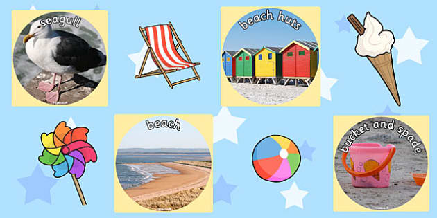 Seaside Display Photo Cut Outs - sea side, seaside display, photo