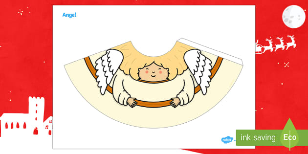 Angel Nativity Cone Character - Priority Resources