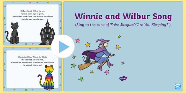 Winnie and Wilbur Song PowerPoint