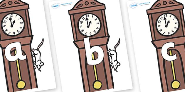 Phoneme Set on Clocks - Phoneme set, phonemes, phoneme, Letters and Sounds, DfES, display, Phase 1, Phase 2, Phase 3, Phase 5, Foundation, Literacy