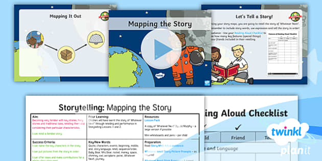 PlanIt Y1 Space: To Support Teaching on Whatever Next! Lesson Pack Storytelling (3) - Planit English, Space, Whatever Next, Astronauts, Jill Murphy, Narrative, Stories with Familiar Sett