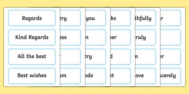 Letter Writing Word Cards - letter writing word cards, letter writing, letter, letters, how to, write, word, cards, word card, flashcards, cards