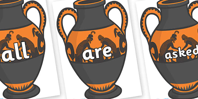 Tricky Words on Amphora - Tricky words, DfES Letters and Sounds, Letters and sounds, display, words