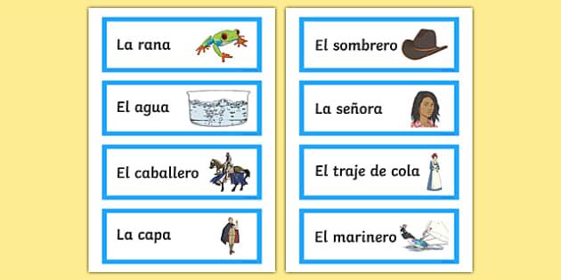 Cu cu Cantaba la Rana Nursery Rhyme Word Cards