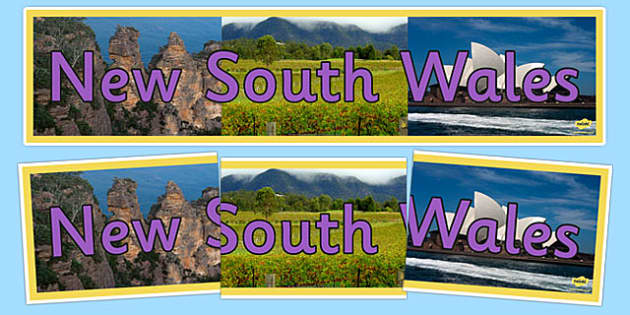 New South Wales Display Banner - australia, States and Territories, NSW, New South Wales, display