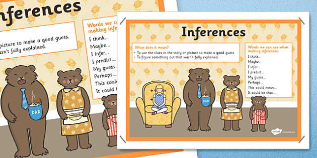 Inference Visual Support Poster - inference, SEN, poster, display