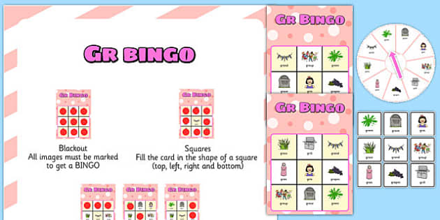 GR Spinner Bingo - sen, sound, gr sound, gr, spinner bingo, bingo, spinner