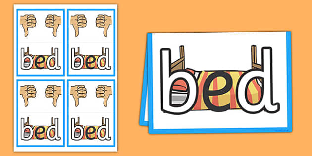 b and d Confusion Table Card - b and d, confusion, mix up, table card, table, card