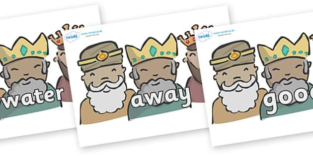 Next 200 Common Words on Three Kings - Next 200 Common Words on  - DfES Letters and Sounds, Letters and Sounds, Letters and sounds words, Common words, 200 common words