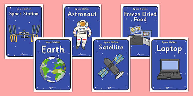 Space Station Role Play Posters - space, space station, role play, posters, space station posters, role play posters, space station role play, role, play