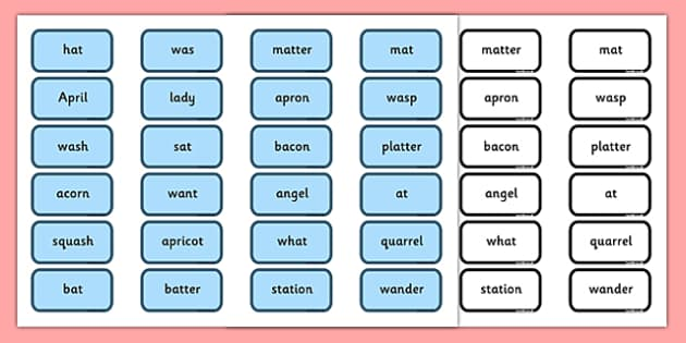 Alternative Pronunciation of a Sorting Game Northern Version - accent, north, words, matching, literacy, KS1, phonics, early years