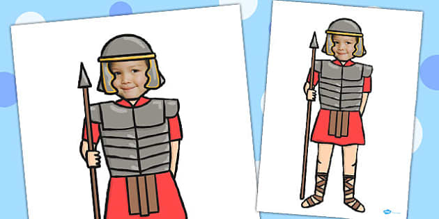 Face Editable Roman Solider - roman, soldier, editable face