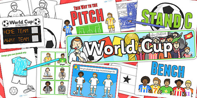 Football World Cup Resource Pack for Childminders - sports, pe
