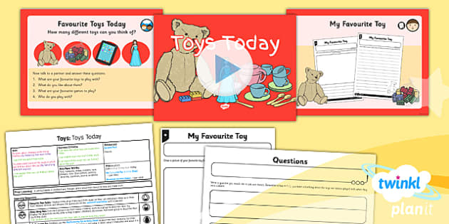 PlanIt - History KS1 - Toys Lesson 1: Toys Today Lesson Pack