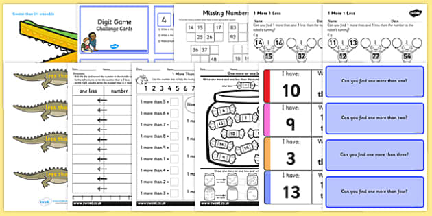 Top 10 Year 1 Place Value Resource Pack