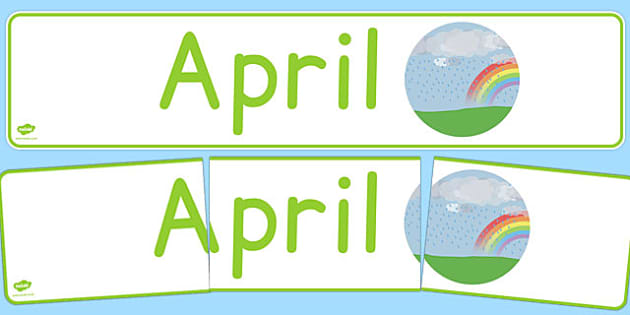 April Display Banner German - german, april, display banner, display, banner