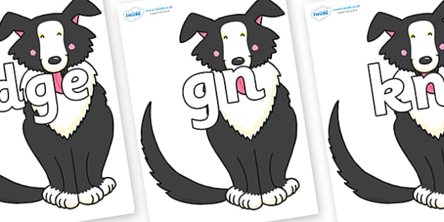 Silent Letters on Hullabaloo Sheepdog to Support Teaching on Farmyard Hullabaloo - Silent Letters, silent letter, letter blend, consonant, consonants, digraph, trigraph, A-Z letters, literacy, alphabet, letters, alternative sounds