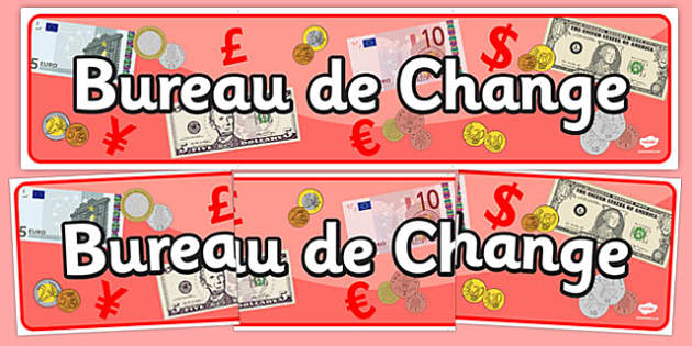 Bureau de Change Display Banner - Travel agent, holiday, travel,  Display, Posters, Freize, holidays, currency, foreign money, euro, dollar, agent, booking, plane, flight, hotel