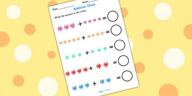 Splat Addition Worksheet - splat, addition, adding, worksheet