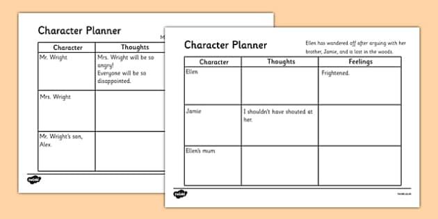 Character Emotions Writing Activity - character emotions writing activity, activity, writing, character emotions, feelings, thoughts, character, story