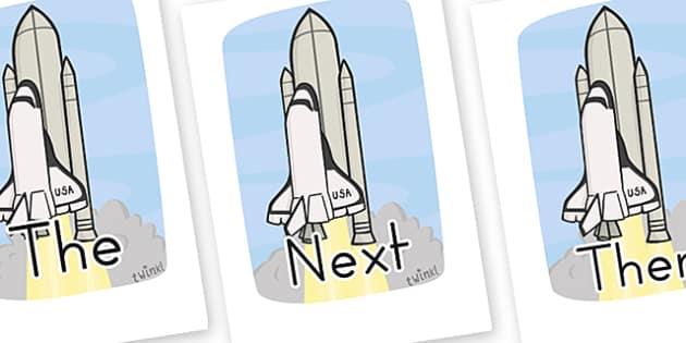 Sentence Starters On Rockets - sentence, starters, literacy