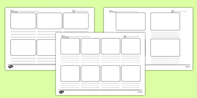 Storyboard Templates Polish Translation - polish, storyboard, templates, story