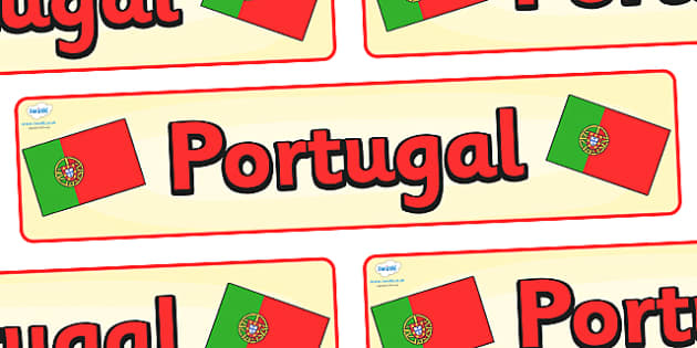 Portugal Display Banner - Portugal, Olympics, Olympic Games, sports, Olympic, London, 2012, display, banner, sign, poster, activity, Olympic torch, flag, countries, medal, Olympic Rings, mascots, flame, compete, events, tennis, athlete, swimming