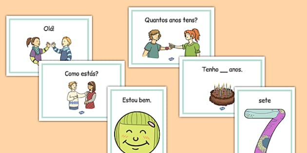 Getting to Know You Display Posters Portuguese - portuguese, get, know, you, display
