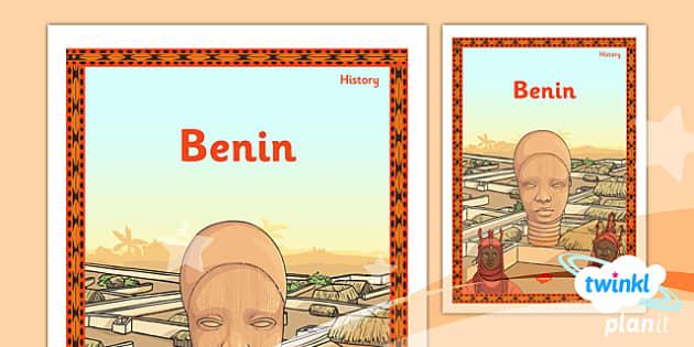 PlanIt - History UKS2 - Benin Unit Book Cover - planit, history, book cover, benin