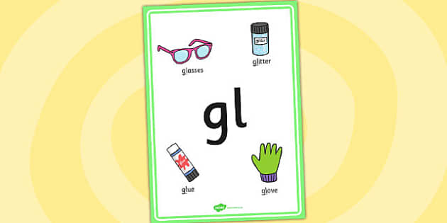 Phase 4 gl Initial Blend Poster - phase four, blends, literacy
