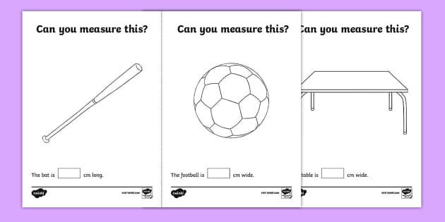 Measuring in cm Activity Sheets - Measuring, CM, centimetres
