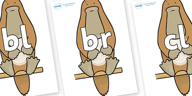 Initial Letter Blends on Platypus to Support Teaching on The Great Pet Sale - Initial Letters, initial letter, letter blend, letter blends, consonant, consonants, digraph, trigraph, literacy, alphabet, letters, foundation stage literacy