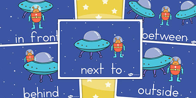 Alien Positional Language Display Posters - australia, display