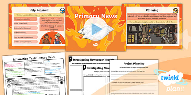 PlanIt Y1 Time Travel: The Great Fire of London Lesson Pack Recounts (1)