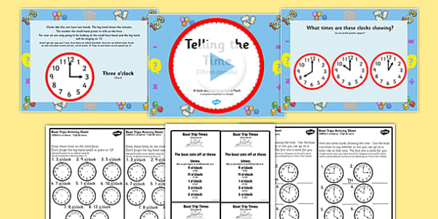 Citeste Ceasul, PowerPoint si fisa de lucru - romanian, telling the time, clocks, time telling, boat trips, time telling task setter, boat timetables