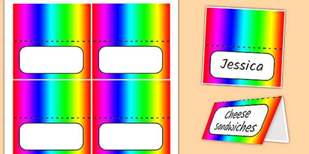 Generic Party Labels - generic, party, generic party, celebrate, labels, food