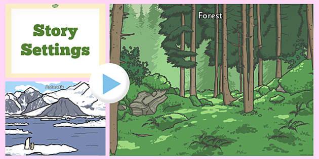 Story Setting PowerPoint - story setting, powerpoint, story, setting