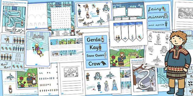 The Snow Queen Resource Pack - storybooks, stories, activities