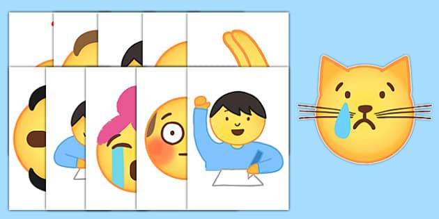 Emojis Display Cut-Outs
