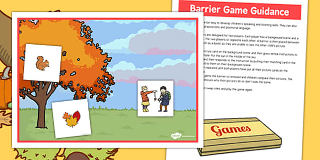 Autumn Trees Barrier Game - autumn, trees, barrier game, game, barrier