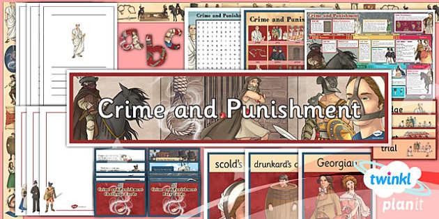 PlanIt - History LKS2 - Crime and Punishment Unit Additional Resources - planit