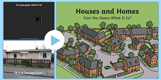 Houses and Homes: Guess the Building PowerPoint Game