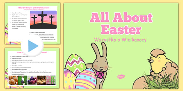 Easter Information PowerPoint EYFS Polish Translation - polish, easter, information, eyfs, all about easter, powerpoint