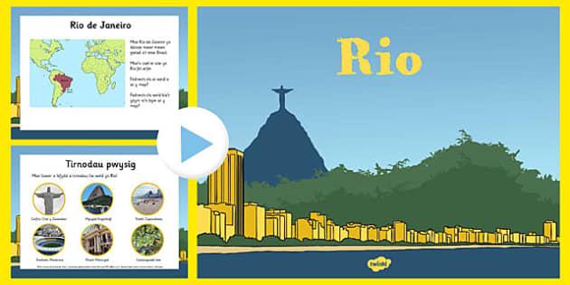 Pwerbwynt gwybodaeth Rio - welsh, cymraeg, pwerbwynt, gwybodaeth, Rio, Brasil, gemau olympaidd