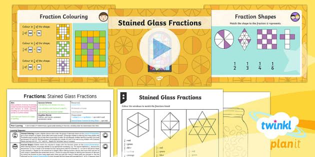 PlanIt Y4 Fractions Problem Solving (1) Lesson Pack - Fraction, unit fraction, fraction of a shape, fraction of a quantity, fraction of a number, fraction