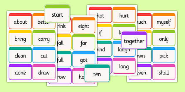 Dolch Word Flashcards Third Grade - usa, america, dolch, word, flashcards, third grade